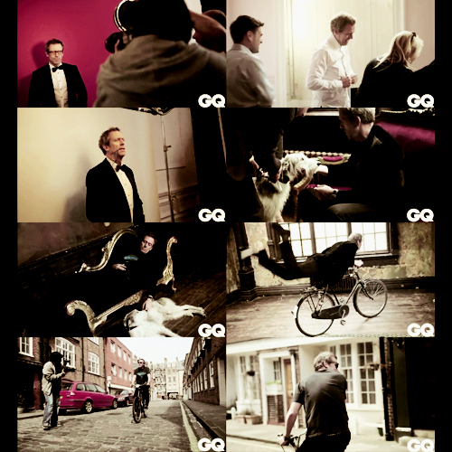 Hugh Laurie- GQ magazine- Behind the Scenes