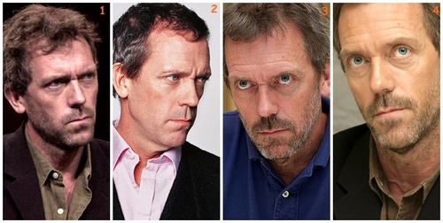 Hugh Laurie karatasi la kupamba ukuta with a business suit entitled Hugh Laurie at various times
