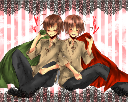 hetalia Italy wallpaper called Italy and Romano
