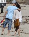 Jelena at the beach ♥♥