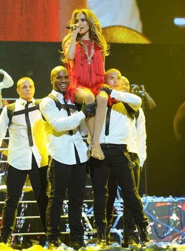 Jennifer - I Heart Radio Concert, Las Vegas - September 24, 2011
