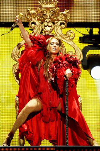 Jennifer Lopez at the iHeartRadio Music Festival on September 24, 2011