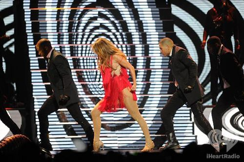 Jennifer Lopez at the iHeartRadio 音乐 Festival on September 24, 2011