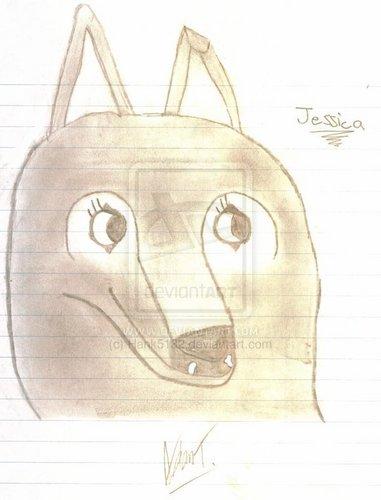 Jessica the волк