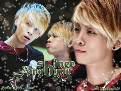 Blingers wallpaper probably with a portrait titled Jonghyun