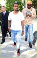 Kanye West: Front Row at Christopher Kane Show! - kanye-west photo