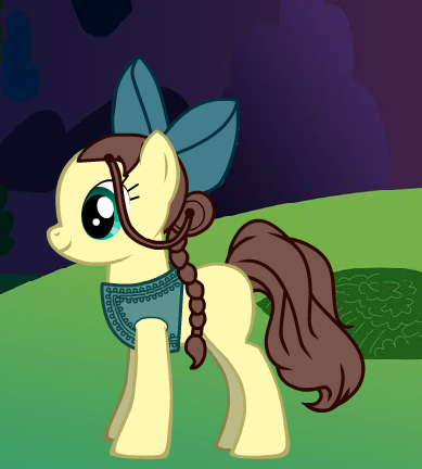 Katara as a my little pony