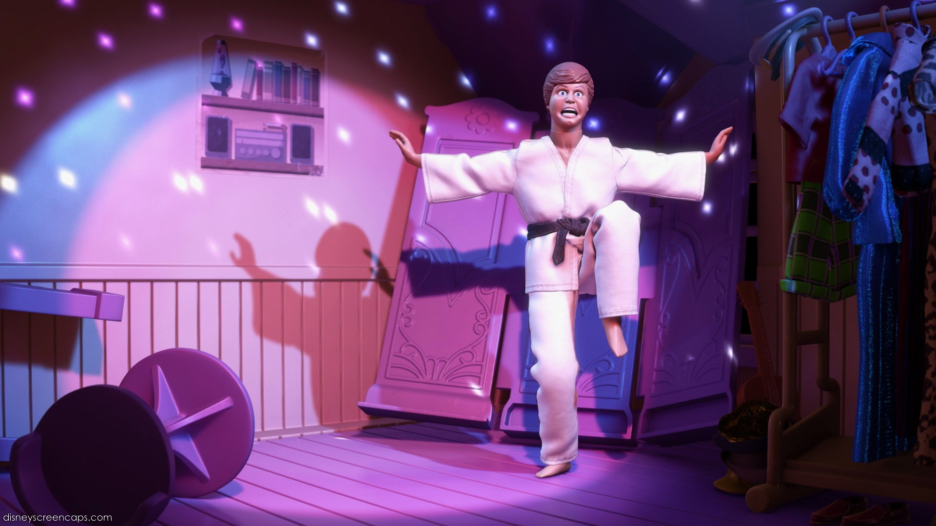Ken in Taekwondo Suit