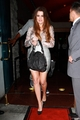 Khloe and Lamar leave Mastro's Steakhouse after a dinner in Los Angeles - 19/09/2011