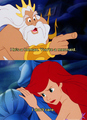 King Triton and Ariel - disney-princess screencap
