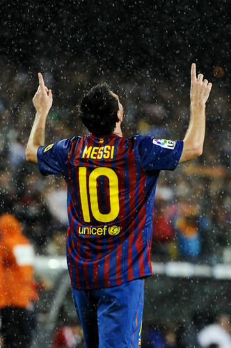 Lionel Andres Messi wallpaper titled L. Messi (Barcelona - Atletico)
