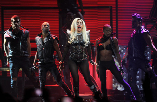 Lady Gaga performing @ iHeartRadio Musik Festival