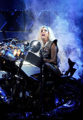 Lady Gaga performing @ iHeartRadio Musica Festival