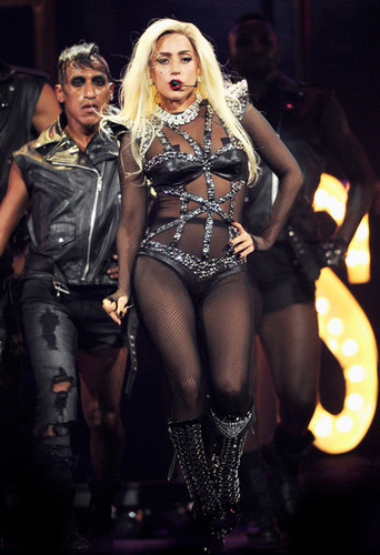 Lady Gaga performing @ iHeartRadio Music Festival