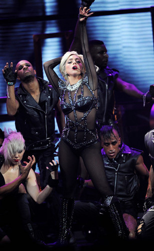 Lady Gaga performing @ iHeartRadio 音乐 Festival