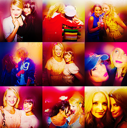Lea Michele and Dianna Agron wallpaper entitled Lea&Dianna;