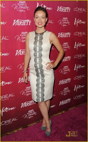Lea Michele & Olivia Wilde: Variety's Power of Women!