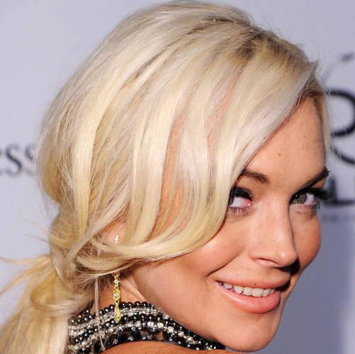 Lindsay Lohan: amfAR MILANO 2011, Sep 23