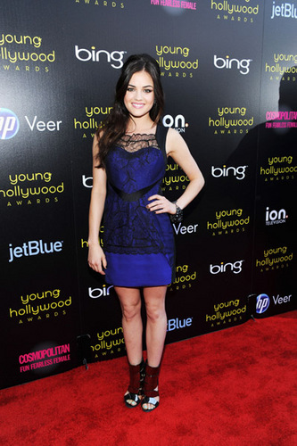 Lucy Hale 壁纸 possibly containing a sign entitled LucyHalePhotos!