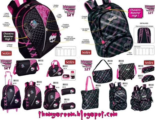 Monster High fond d'écran titled MH Bags