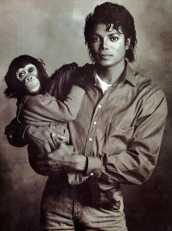 MJ and Bubbles