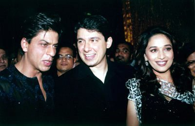 Madhuri and SRK