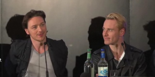 James McAvoy and Michael Fassbender वॉलपेपर called McFassy is Real!