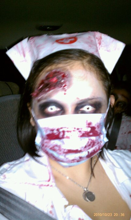 Me as a beautiful Zombie