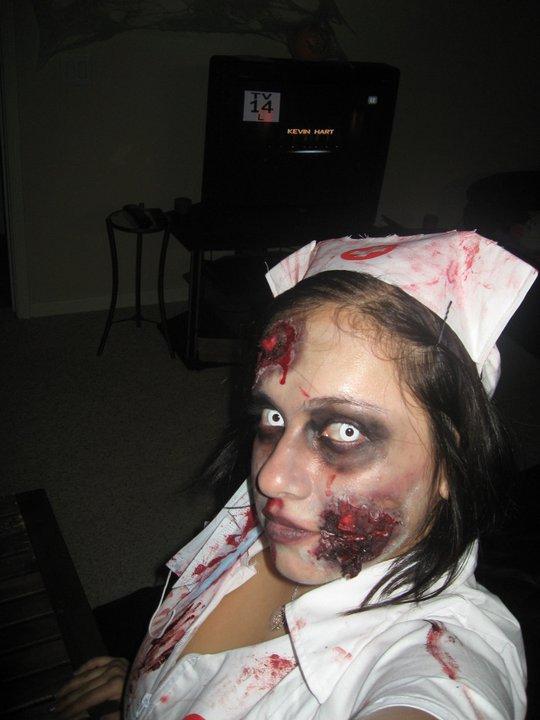 Me as a beautiful Zombie
