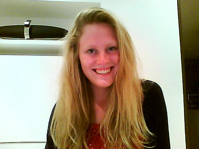 Me with my hair straightened :)