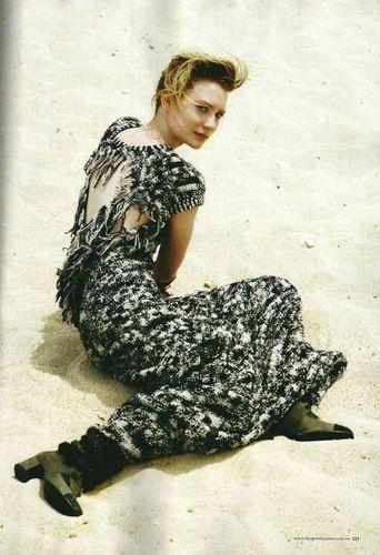 Mia Wasikowska Photoshoot: Harper's Bazaar Australia August 2011