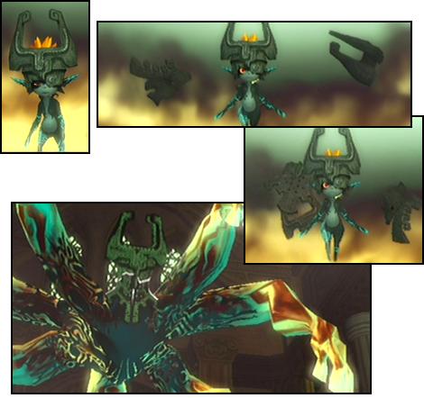 Midna's Transformation