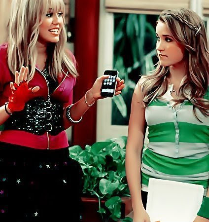 Miley And Emily.... ♥