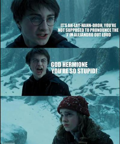 Hermione and harry have sex