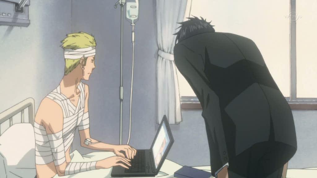 Tobari and Yukimi - Nabari no Ou Image (25591740) - Fanpop Nabari No Ou Tobari
