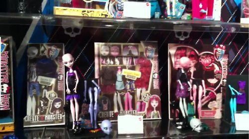 New Monster High Products !!!!!!