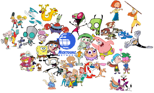 Nickelodeon Обои entitled Nicktoons