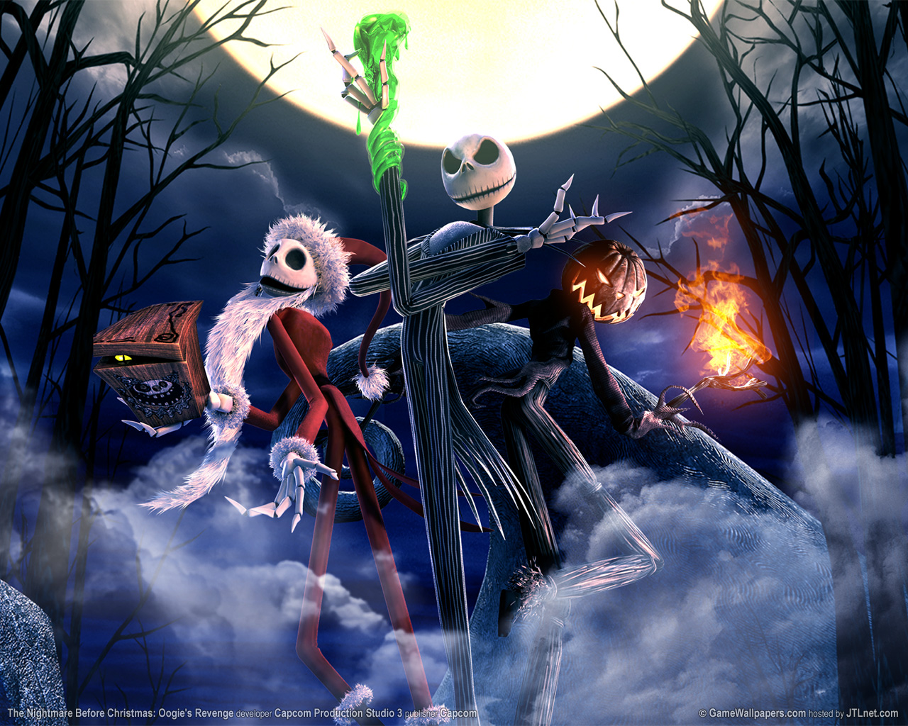 Nightmare Before Christmas Nightmare Before Christmas :Oogie's revenge