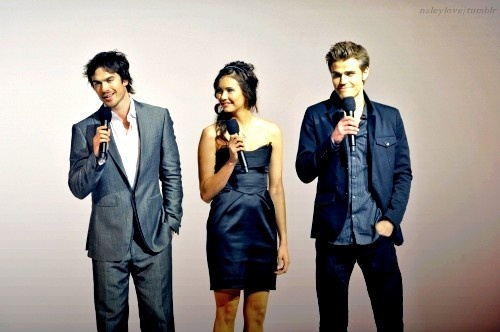 Nina, Paul and Ian