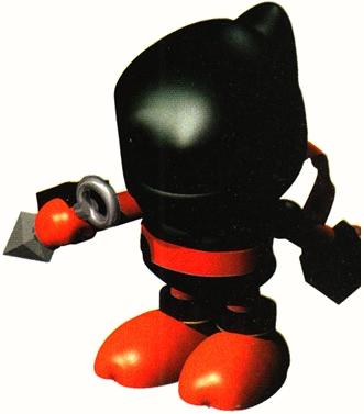 Super Mario RPG karatasi la kupamba ukuta called Ninja