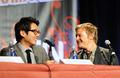 Norman Reedus and Steven Yeun