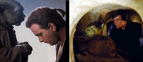 Obi-wan and Yoda/Luke and Yoda