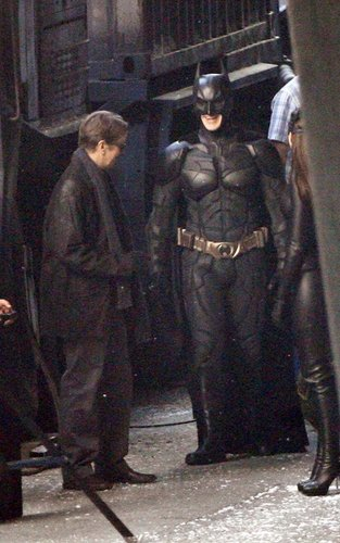 On the Set of The Dark Knight Rises