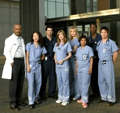 Original Cast of Grey's Anatomy