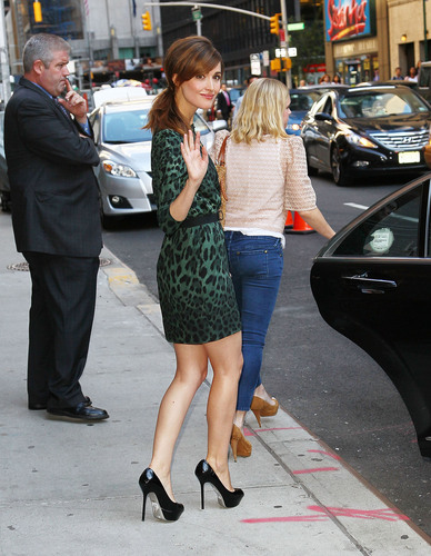 Outside 'Late Night with David Letterman' - 23 Aug