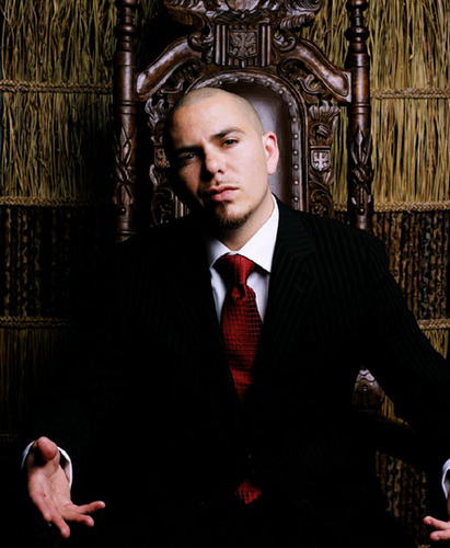 Pitbull Rapper Wallpaper Containing A Business Suit And Called