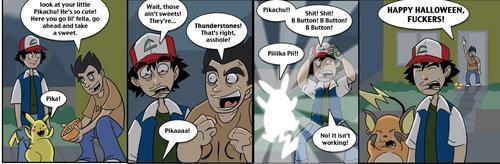 Pokemon halloween XD
