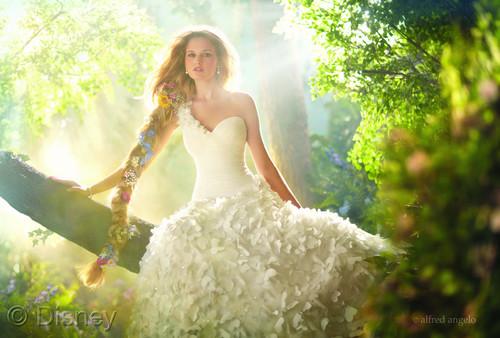 Rapunzel Royal Wedding Dress