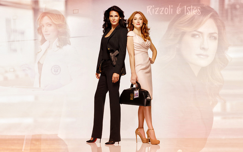 Rizzoli and Isles wallpaper
