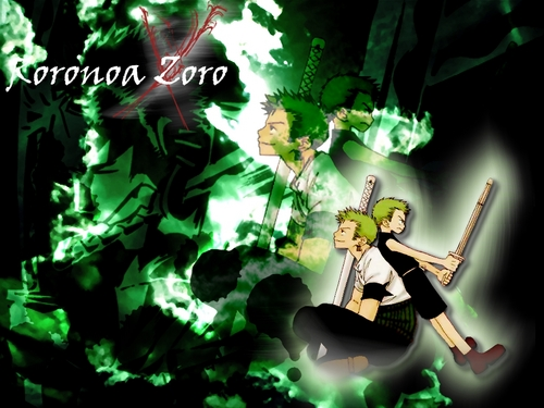 One Piece achtergrond called Roronoa Zoro